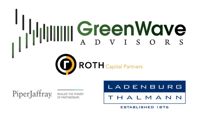 GreenWave Advisors - MjMicro - WDLF - ROTH Capital - Piper Jaffray - Logo - MjMicro - MjInvest